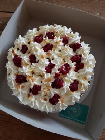 Citroen frambozen taart