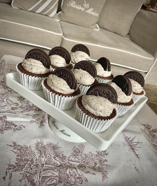 Triple Oreo Cupcakes