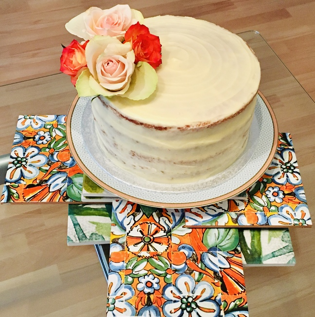 """""""Spicy & Sweet Carrot & Speculoos Cake"""""""