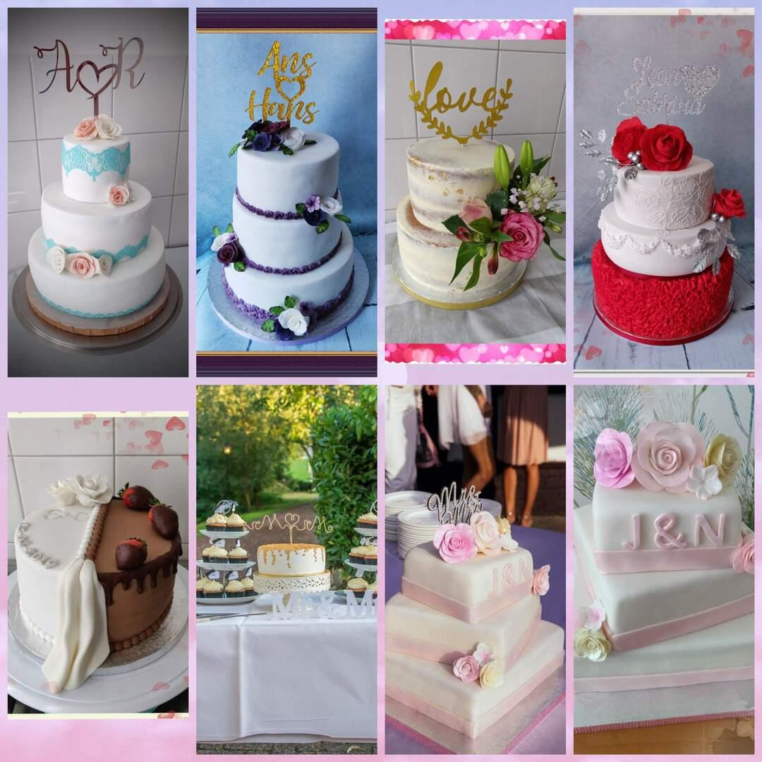 Bruidstaarten naar wens