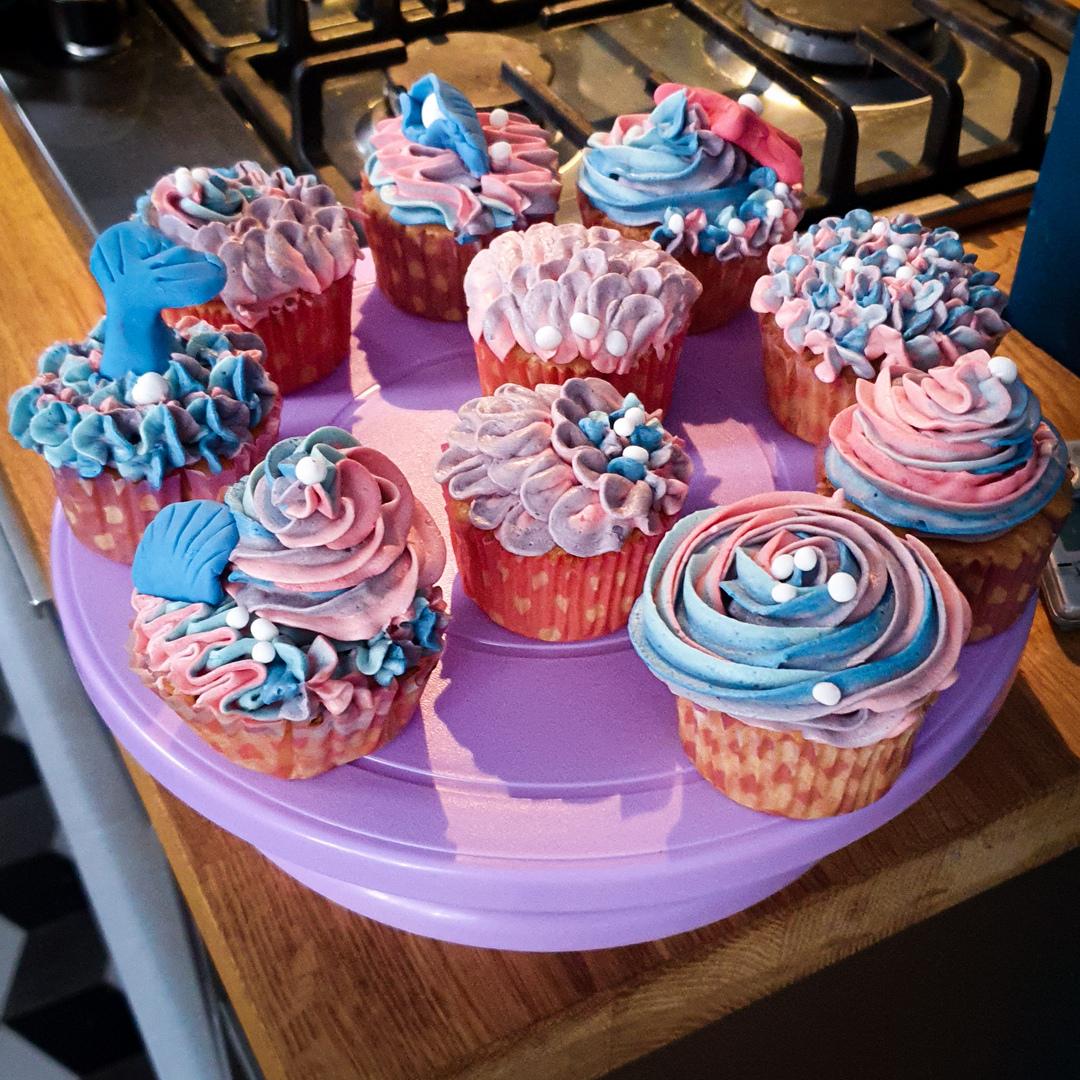 Heerlijke en mooie cupcakes!
