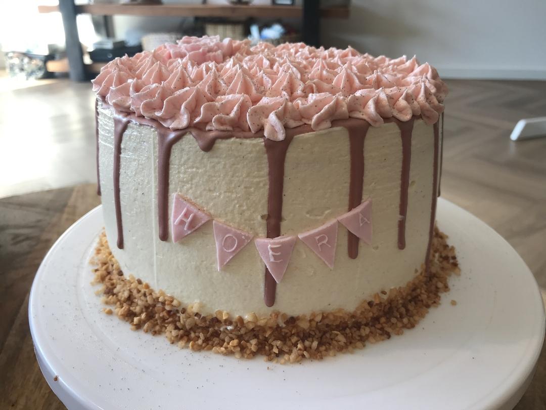 Diverse taarten naar wens gemaakt