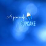 A piece of cupcake